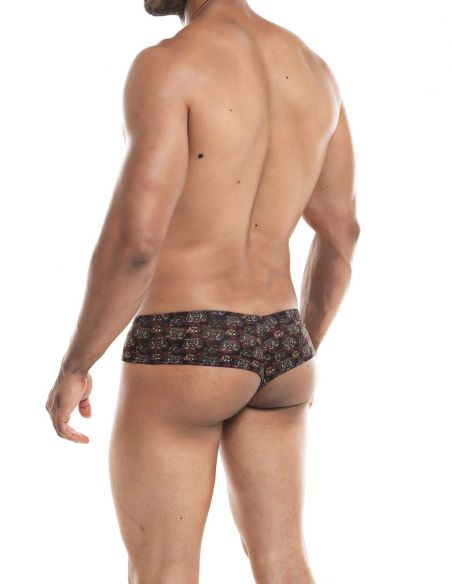 High Cut Cheeky Brief Tiger - Provocative - C4M
